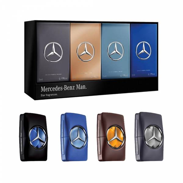Mercedes Benz 賓士 男性淡香水禮盒 4x5ml【UR8D】