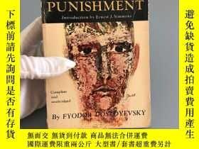 二手書博民逛書店Crime罕見and punishment(三面刷綠 1967年老版本)稀缺版Y467724 FyodorDo