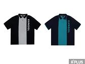 KANGOL 男 寬版撞色POLO衫 6121130120/6121130180