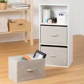 【橫式抽屜置物盒】三層抽屜置物盒 米白/咖啡 兩色可選 生活大師 層櫃通用型 S3988 [百貨通]
