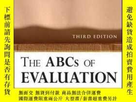 二手書博民逛書店The罕見ABCs of Evaluation: Timeless Techniques for Program