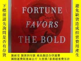 二手書博民逛書店Fortune罕見Favors the Bold:What we