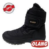 【義大利 OLANG】LUNA OLANTEX 女 防水雪靴 OL-1702W 黑色【適用 -30°雪地 / 內厚鋪毛 / 防滑鞋底】