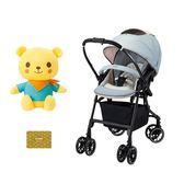 康貝 Combi Handy Auto 4 Cas Light雙向輕量型嬰幼兒手推車-浪漫藍 ★贈 小熊好朋友+尊爵卡
