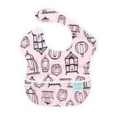 美國bumkins圍兜食飯兜寶寶吃飯防水嬰兒小孩口水圍嘴兒童喂飯兜