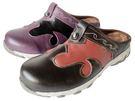 『雙惠鞋櫃』★路豹Zobr★台灣製造 ★ 復古 異國民族 女牛皮雙色拼貼休閒鞋 (DD727) 咖棕、紫黑
