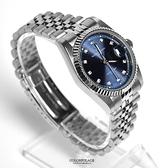 valentino coupeau深藍鏡面不鏽鋼手錶NEV71
