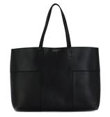 Tory burch 11169616 黑色牛皮手提單肩包購物包