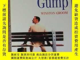 二手書博民逛書店英文原版罕見Forrest Gump by Winston Groom 著Y278082 Winston Gr
