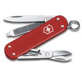 VICTORINOX 瑞士維氏ALOX限量金屬殼5用瑞士刀-莓果紅 06221.L18