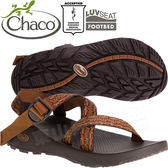 Chaco ZCM01_HD08咖啡焦糖 男越野運動涼鞋-Z1標準款休閒鞋