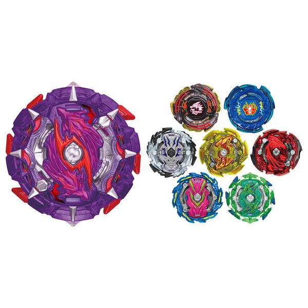 戰鬥陀螺BURST#151-3靈刃魔龍 左迴旋 附籤王下結晶盤(綠色)確認版 隨機強化組VOL.17 超Z世代 TAKARA TOMY