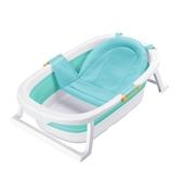 兒童嬰兒洗澡盆浴盆寶寶可折疊新生幼兒多功能加厚式 麥琪精品屋