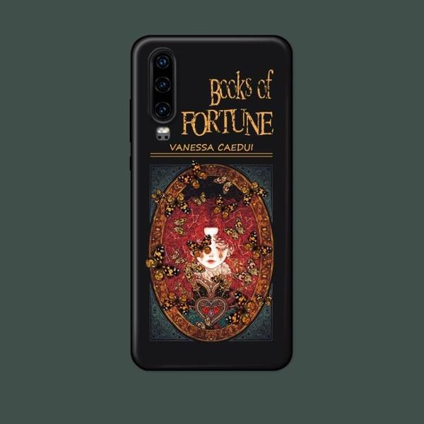 適用小白繪P30prop40p9P10plusp20手機殼復古個性魔法女
