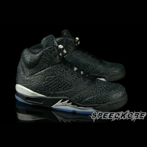 NIKE AIR JORDAN 3LAB5 Black Silver 全黑爆裂 一代 籃球鞋 599581-003 ☆SP☆