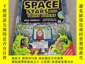 二手書博民逛書店HORRIBLE罕見SCIENCE SPACE STARS AND SLIMY ALIENSY283241 看
