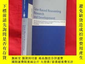 二手書博民逛書店Case-Based罕見Reasoning Research and Developm... (小16開) 【詳見