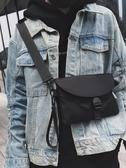 斜挎小包女背包蹦迪潮牌胸包嘻哈街頭潮流學生個性單肩包男【鉅惠85折】