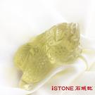 黃水晶貔貅項鍊-極富納財27.5G【石頭...