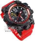 EXPONI 數字雙顯 電子錶 夜光顯示 大錶徑 大錶面 夜光多功能 男錶 學生錶 軍錶 紅色 EX3239紅