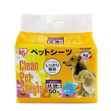 【IRIS】日本Ag+花香抗菌尿布墊M號(ES-50WF)50入
