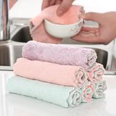 吸水抹布洗碗巾擦碗毛巾家用廚房不沾油洗碗布雙層加厚餐具清潔巾 東京衣櫃