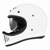 【東門城】M2R MX2 SV 素色(白) 全罩式安全帽 山車帽 內墨鏡片