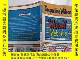 二手書博民逛書店the罕見worry website:擔憂網站 Y212829 不祥 不祥
