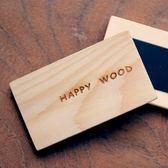 【木樂館】原木HW平板磁鐵2入│阿拉斯加扁柏黃檜│MEMO夾文具辦公事務用品雜貨