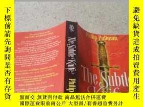 二手書博民逛書店the罕見subtle knife這把精妙的刀Y200392