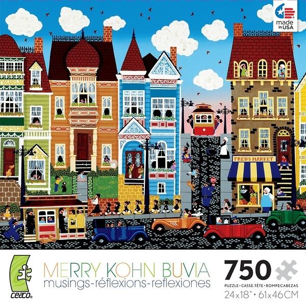 【KANGA GAMES】拼圖 Merry Kohn系列 - 不同的鼓手 A Different Drummer 750片