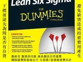 二手書博民逛書店Lean罕見Six Sigma For Dummies, 3rd EditionY410016 John Mo