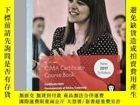 二手書博民逛書店罕見CIMA BA4 Fundamentals of Ethic