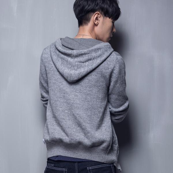 【5折限定】針織毛衣外套(深灰)- BLUEWAY BLUEKONn空