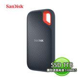 SANDISK 新帝 EXTREME PORTABLE SSD E60 1TB 行動固態硬碟 SDSSDE60-1T00-G25