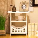 簡約床頭櫃現代客廳儲物小櫃子宿舍臥室簡易床頭邊櫃WY 快速出貨