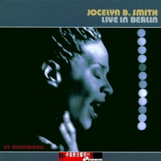 【停看聽音響唱片】【CD】Jocelyn B. Smith Live In Berlinby