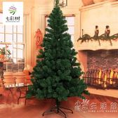 聖誕樹1.2/1.5/1.8/2.1/2.4/3米家用裸樹仿真綠色DIY聖誕節裝飾品 WD 小時光生活館