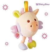 新生兒可吊掛手推車 安全坐椅  澳洲baby bow-小牛吊掛玩偶 另有小鴨款可選