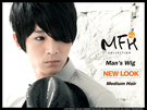 MFH韓國男生假髮◆李準基斜瀏海假髮 【M011002】韓國髮型/PARTY髮型/尾牙造型