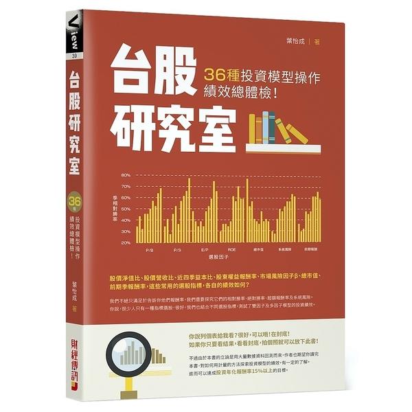 台股研究室(36種投資模型操作績效總體檢)