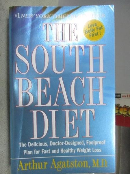 【書寶二手書T9/原文小說_MOI】The South Beach Diet