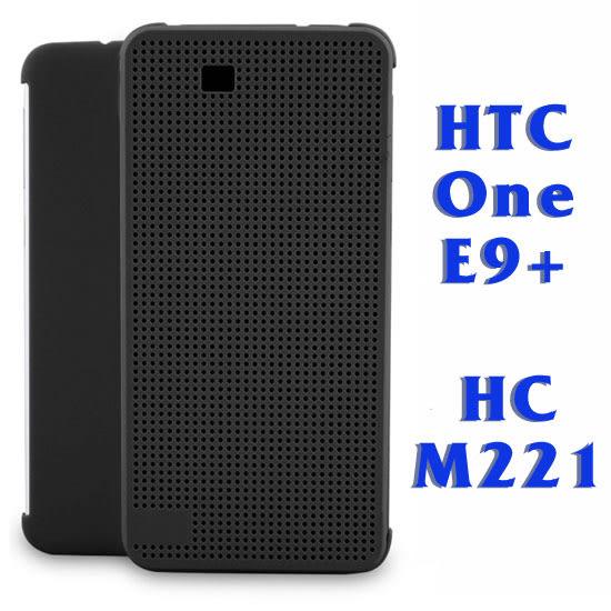 【原廠皮套】HTC One E9+ dual sim 炫彩顯示皮套/側掀手機保護套/側開保護殼 Dot View HC M221