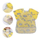兒童防水反穿衣無袖餵飯罩防髒畫畫衣-JoyBaby