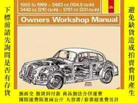 二手書博民逛書店Jaguar罕見MkI & II, 240 & 340 (55 – 69) Haynes Repair Manua