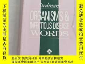 二手書博民逛書店StedmansOrganismsandInfectiousDiseaseWords(Stedmans