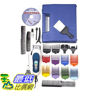 [104美國直購] Wahl Homepro B003GLL3IS Color-coded 理髮工具25件套 Haircutting (25-Piece Kit) $10252