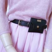 皮帶包小包包式腰帶女士復古韓版配連身裙子百搭皮帶裝飾字母牛仔褲帶潮 韓國時尚週