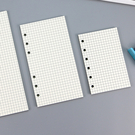 【BlueCat】文件夾6孔活頁月週日計劃橫線紙 (A6)