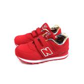 New Balance 574系列 運動鞋 復古鞋 紅色 童鞋 YV574GYI-W no846